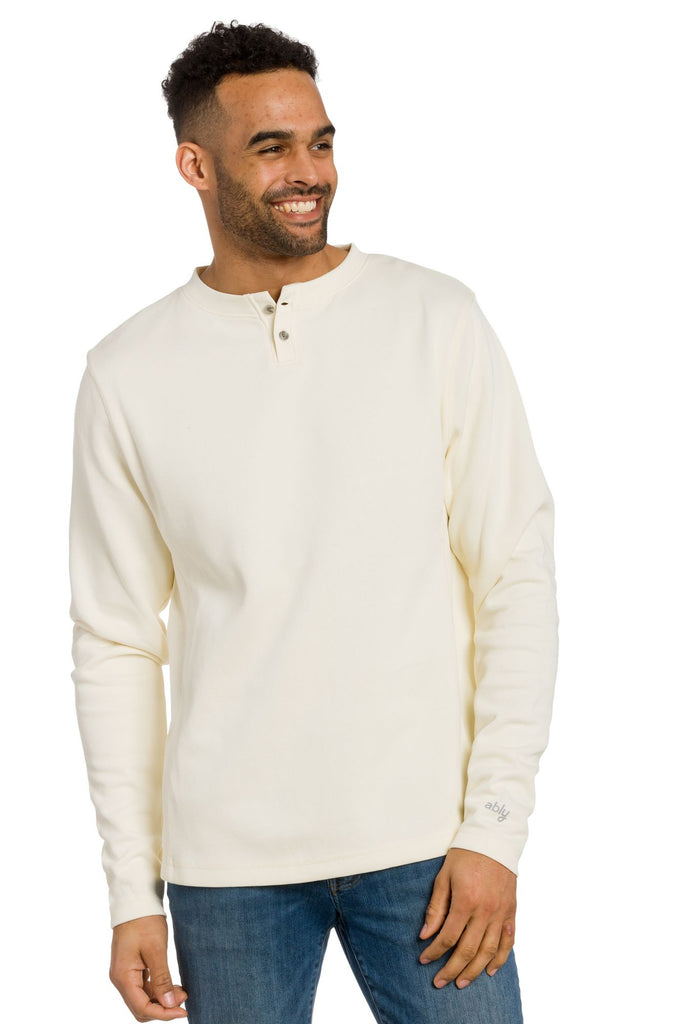 Francis | Men's Flatback Ribbed Crew Neck Sweatshirt