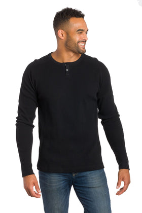 Lyon | Raglan Thermal With Placket