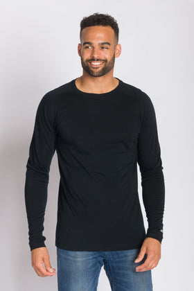 Gavin | Men's Merino Wool Long Sleeve Top