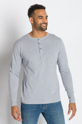 Frank | Long Sleeve Henley