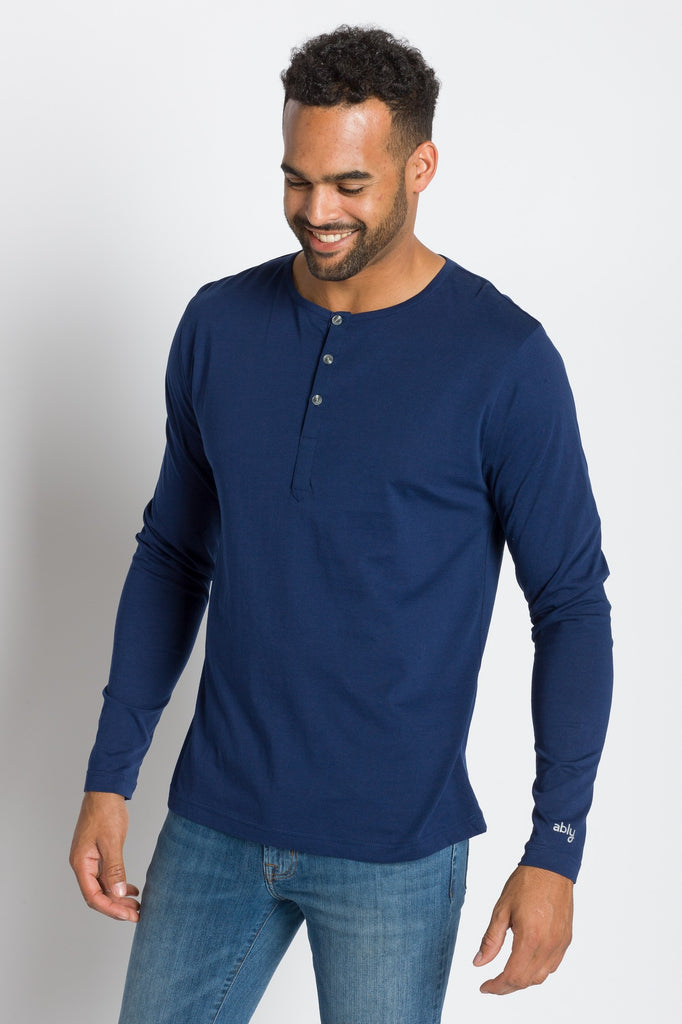 Frank | Men's Long Sleeve Henley