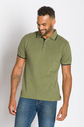 Quest | Men's Slub Pique Polo