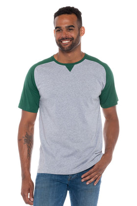 Ronaldo | Men's Color Block Crew Neck T-Shirt