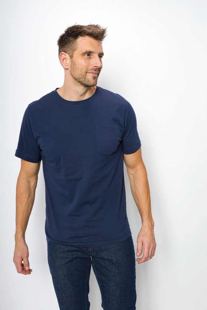 Bradley Unbranded | Men's Logo-less Crew Neck Pocket Tee