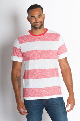 Nishant | Men's Cotton Slub Short Sleeve Top
