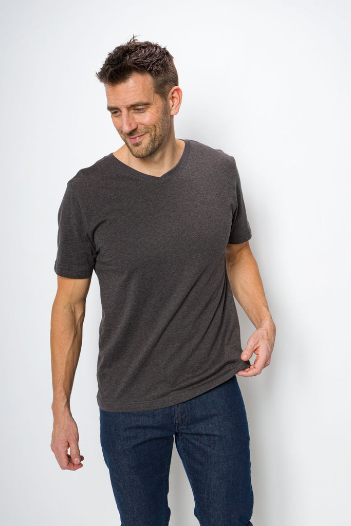 Jamison Unbranded | Men's Logo-less V-neck Tee