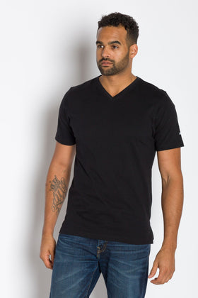 Jamison 180 | Mens Short Sleeve V-neck Tee