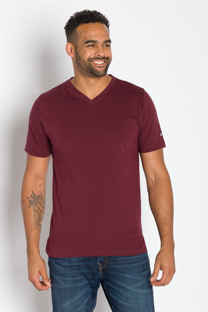 Jamison Heavy Tee | Men's Short Sleeve V-neck Tee