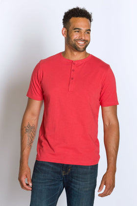 Embark | Men's Cotton Slub Short Sleeve Top
