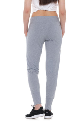 Lilac | Rib Cuffs Sweatpants