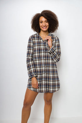 Lucy | Women's Flannel Sleep Shirt