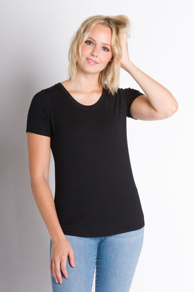 Cate | Women's Modal Short Sleeve Top