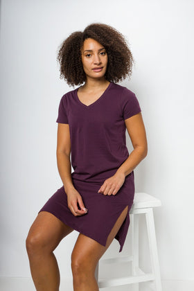 Midi | Women's Short Sleeve Tee Dress
