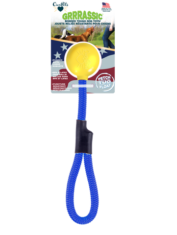 GRRRassic Bonded Tough Retrieval Dog Toys