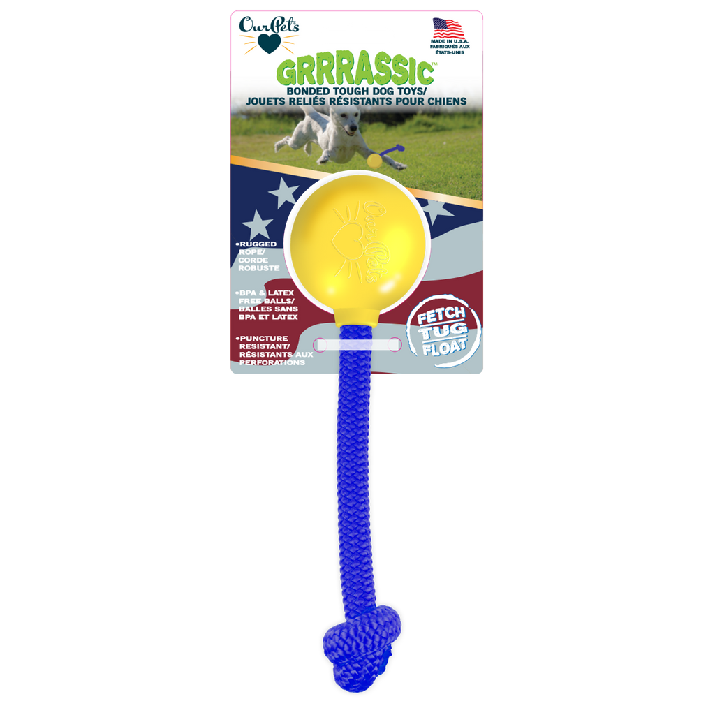 GRRRassic Bonded Tough Toss Dog Toys