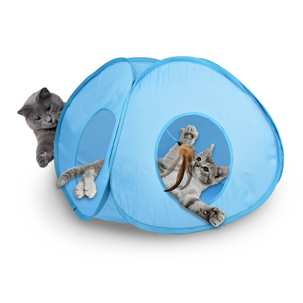 OurPets Pounce House Electronic Cat Toy