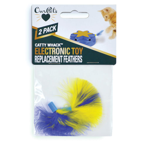 OurPets Catty Whack electronic toy replacement feathers