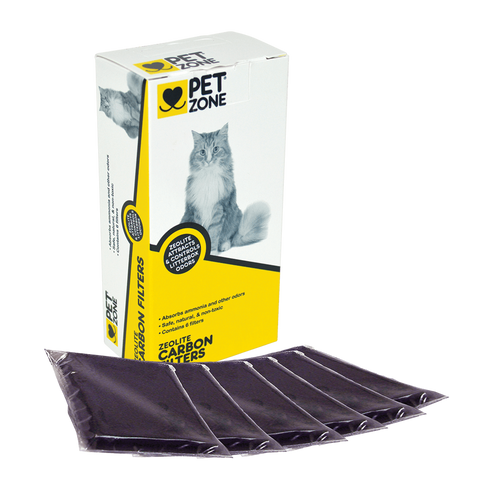 Pet Zone Universal Carbon Filters - 6 pk.