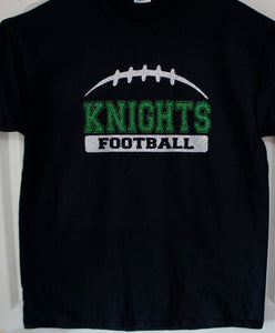 a007e2fca Football Team Shirt - Knights Football Shown. Customize for your team name
