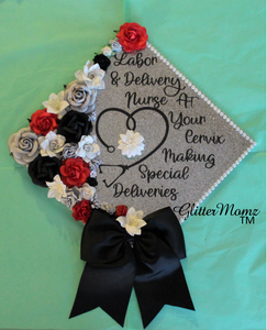 At Your Cervix Graduation Cap Topper