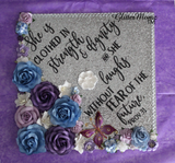 Proverbs 31 Graduation Cap Topper Decoration