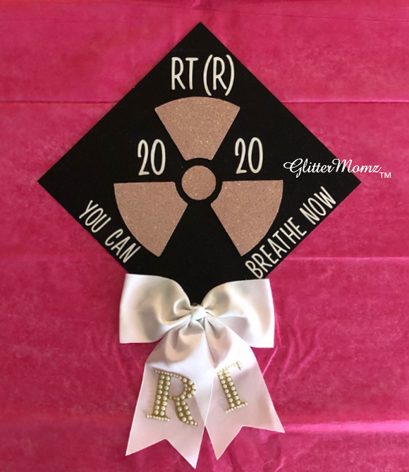 Respiratory Therapy Graduation Cap Decoration
