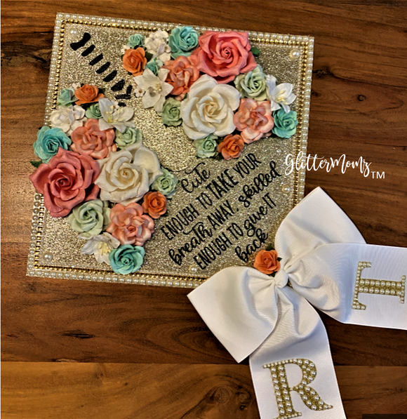 Respiratory Therapist Graduation Cap Topper