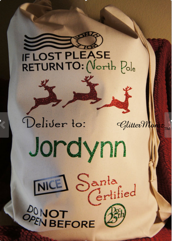 Santa Sack Christmas Bag