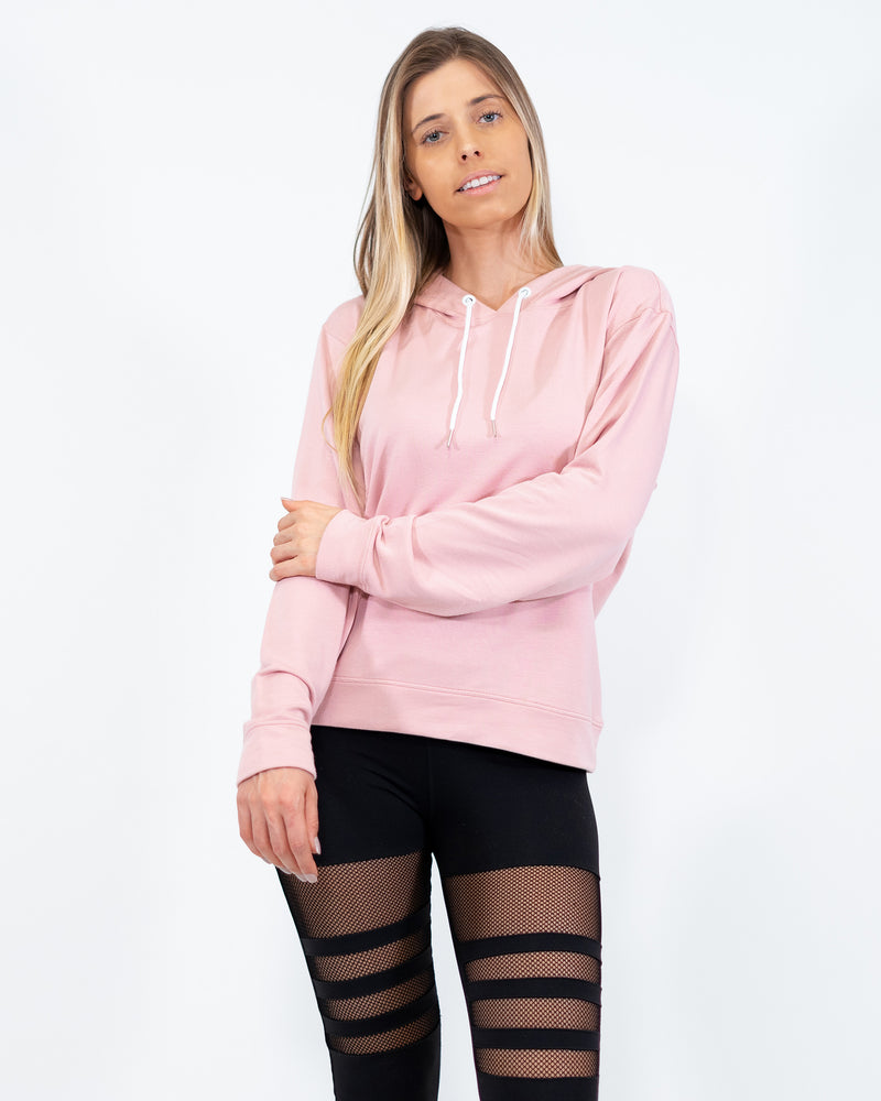 Bamboo Hoodie Pink