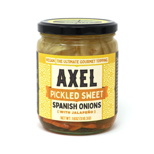 Pickled Sweet Spanish Onions with Jalapeño