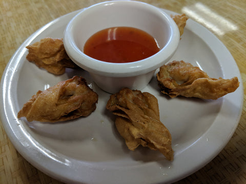 A9. Fried Wonton Dumplings