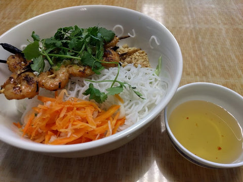 B4. Bun Tom Nuong (Shrimp) - pho92ga
