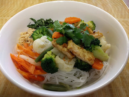 Bun Chay (Tofu and Vegetables) - pho92ga