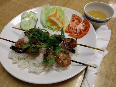 C4. Com Tom Nuong (Shrimp) - pho92ga