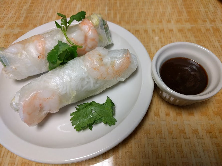 A2. Goi Cuon Tom Thit (Shrimp & Pork) - pho92ga