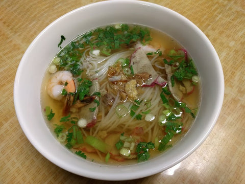 H1. Hu Tieu Tom Thit (Shrimp & Pork) - pho92ga