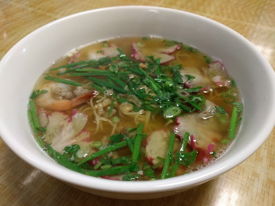 M4. Mi Tom Thit (Shrimp & Pork) - pho92ga