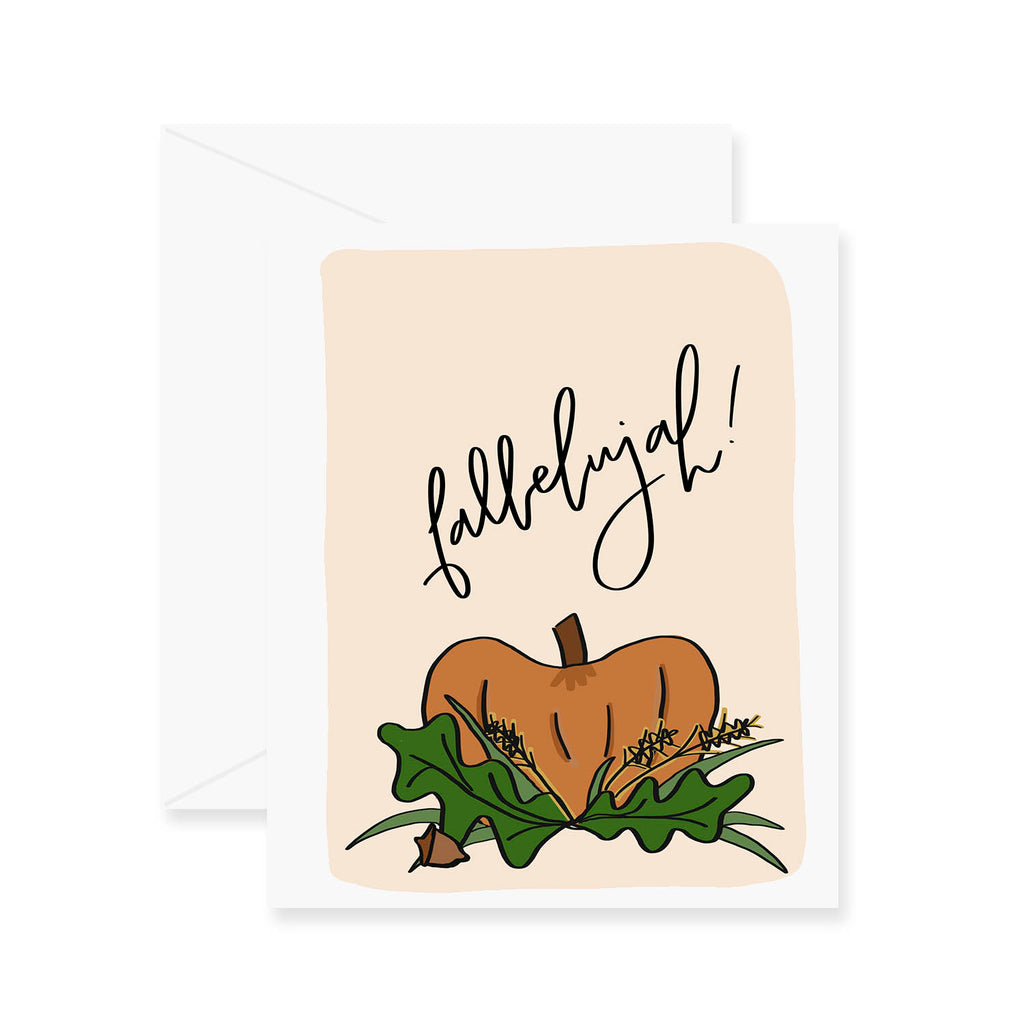 Fallelujah Greeting Card