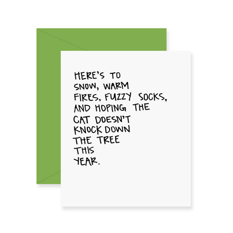 Blurred Lines Greeting Card