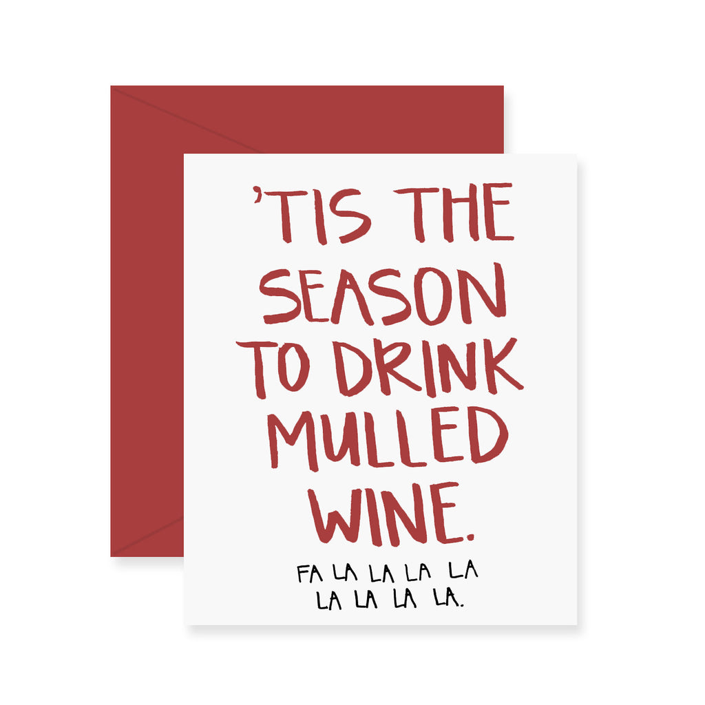 Mulled Wine Greeting Card
