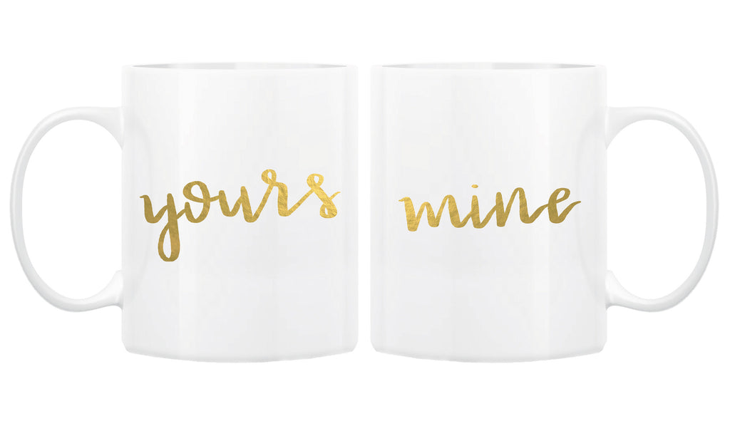 Yours & Mine Coffee Mug Set