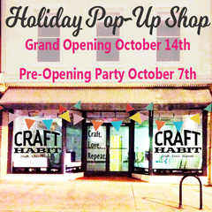 Get sneak peek of Craft Habit Holiday shop Friday