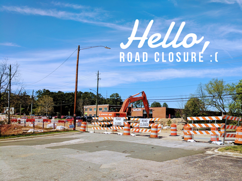 Crabtree Blvd Closure