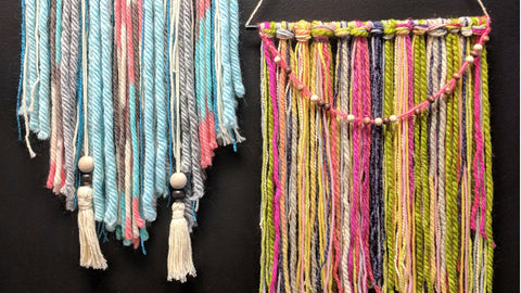 how to have a macrame birthday party at Craft Habit Raleigh