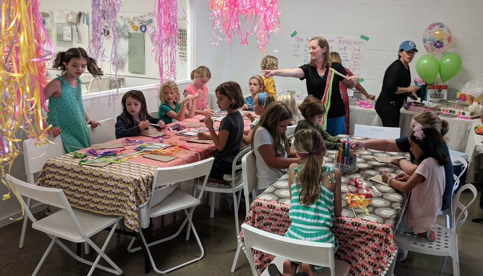 Parties For Crafty Kiddos
