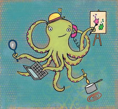 Multitasking Octopus