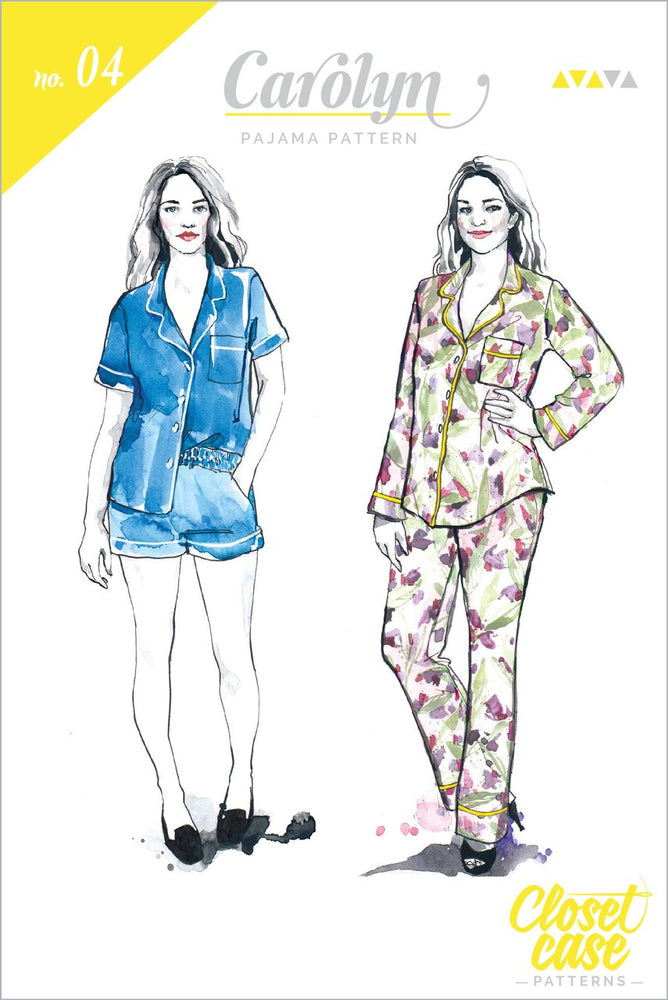 Closet Case Carolyn Pajama sewing pattern