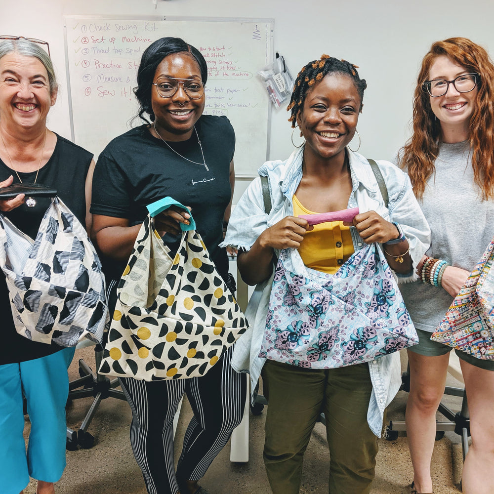 Adult Intro to Sewing: Origami Market Bag