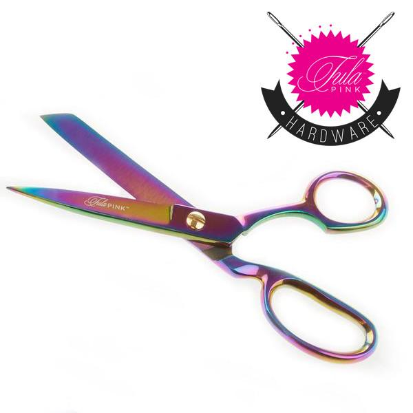 Tula Pink 8 Inch Fabric Shear (right handed)