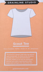 Grainline Studio Scout Tee sewing pattern